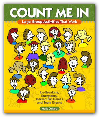 Click HERE to learn more about Count Me In: Large Group Activities That Work